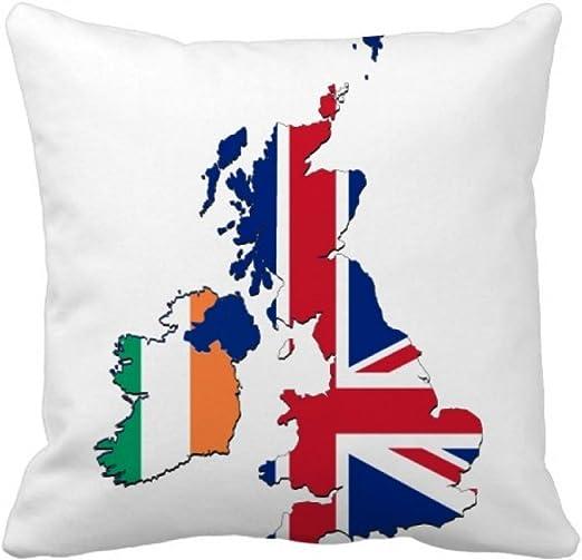 Amazon.com: DIYthinker Union Jack UK Britain Irland Map Country
