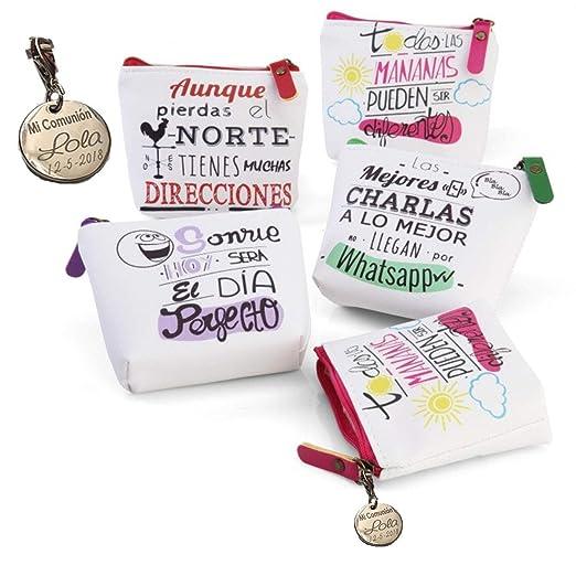 Lote de 10 Monederos Frases Originales - Monederos con ...