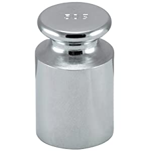 Smart Weigh CW-100G Carbon Steel 100g OIML Class M1: ± 5 mg Calibration Weight with Chrome Finish