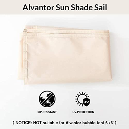 "Alvantor Sun Shade Sail Canopy Covers UV Block Outdoor Backyard Screen House Bubble Tent 38""x50""x57"""