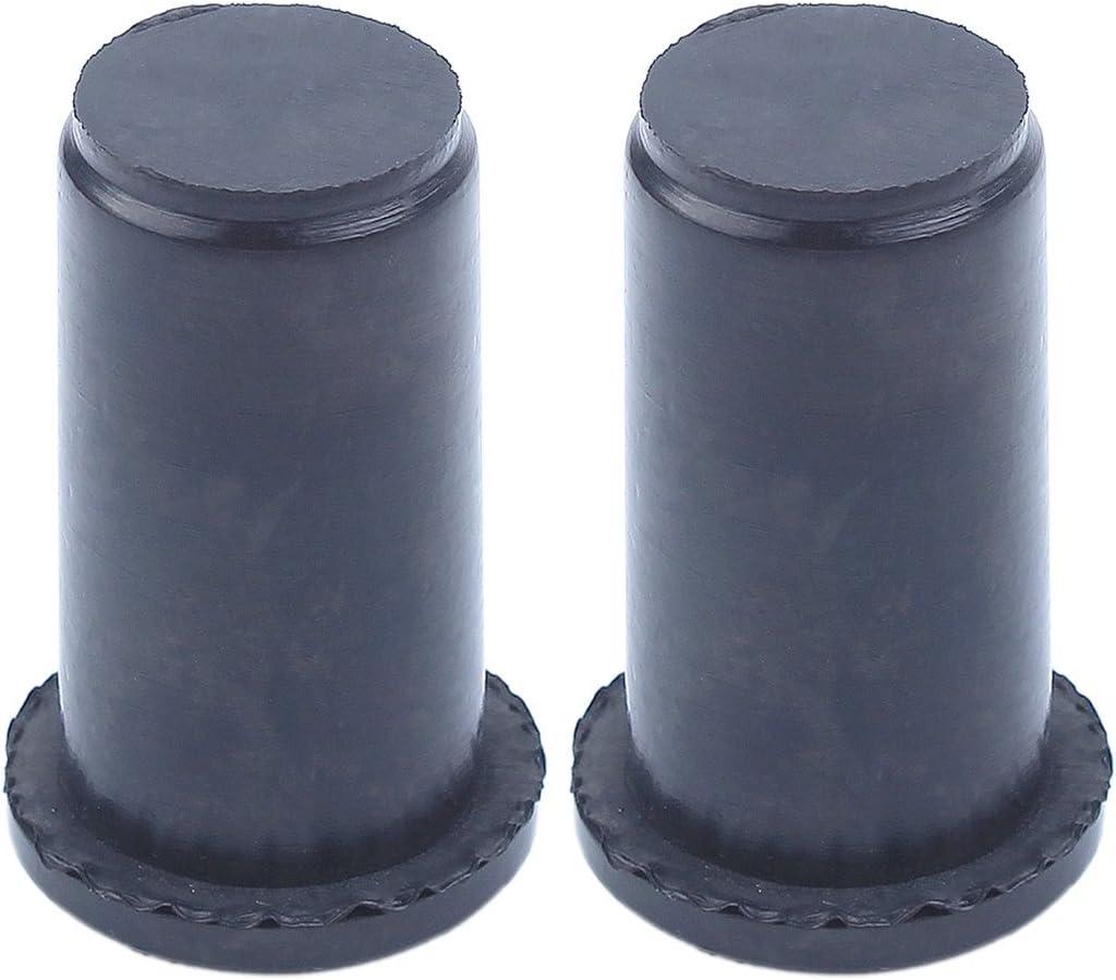 Tampon de montage Haishine 2Pc Antivibe Element AV pour Husqvarna 55 51 50 55 Rancher EPA 55 EU1 Caoutchouc Annulaire pour tron/çonneuse 501763901,501763902