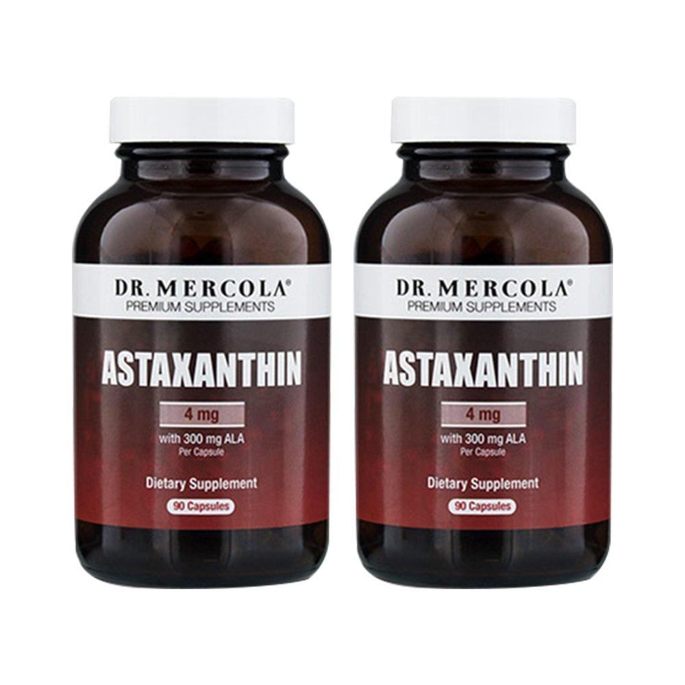 Dr. Mercola Astaxanthin 90 Capsules-2 Bottles