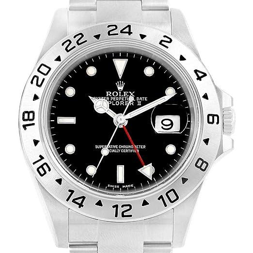 Rolex Explorer II 16570 - Reloj automático con Cuerda para Hombre (Certificado de autenticidad)