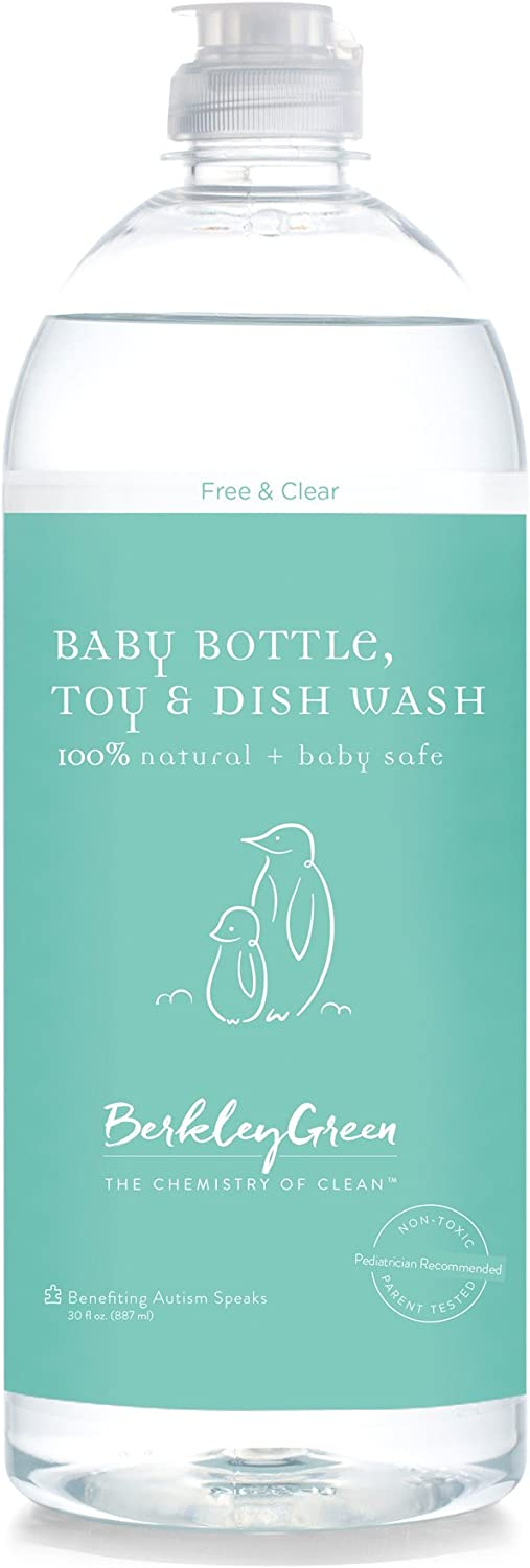 Berkley Green Baby Natural Non -Toxic Dish & Bottle Soap