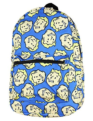 Price comparison product image Fallout Vault Boy Bobblehead School Backpack