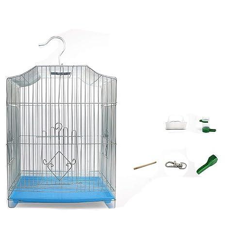 Jaula de metal Jaulas de animales Cría de aves Mascotas Pajarera ...
