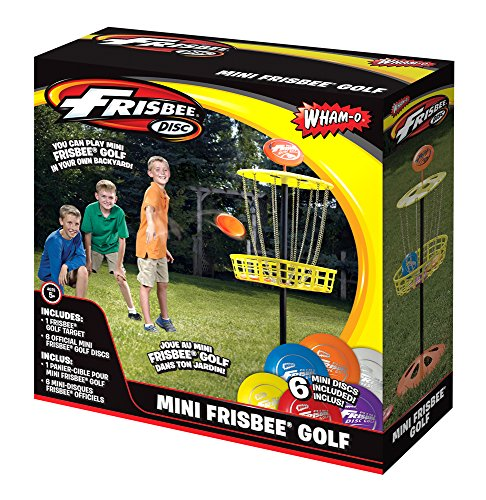 Wham-O Mini Frisbee Golf Disc Indoor and Outdoor Toy Set