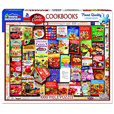 White Mountain Puzzles Betty Crocker Cookbooks - 100: Toys & Games