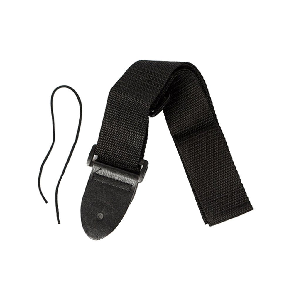 ROSENICE Guitar Strap Black Nylon Strap for Ukulele Acoustic Electric Guitar Bass Accessory 14P432R14DSNUAKTCMZAG1JQ