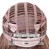 HAIRCUBE Long Brown Wigs 20 Inch Long Layered
