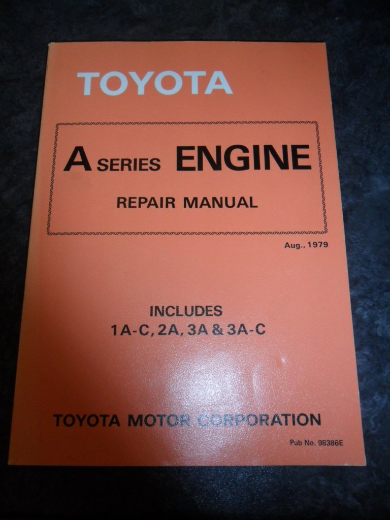 toyota k series engine repair manual includes 2k 3k b 3k c 3k h rh amazon com toyota 3k engine repair manual Toyota 4K