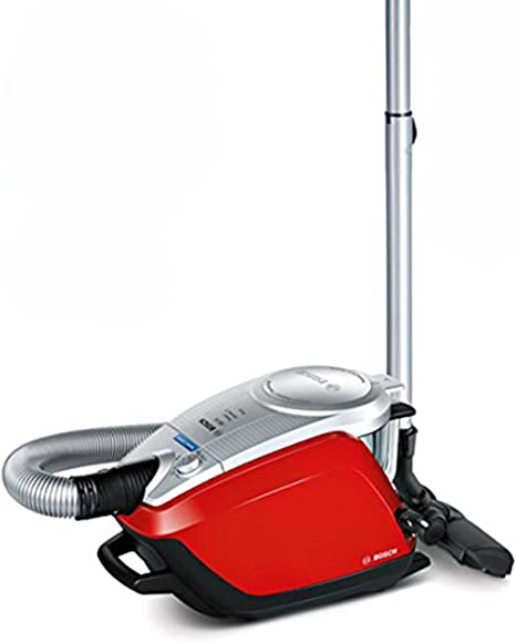 Bosch BGS5PET2GB Power Animal 2 Bagless Cylinder Vacuum Cleaner, 3 L Red