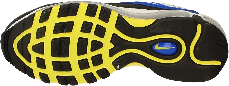 Nike Air Max 98, Chaussures d'Athlétisme Homme Racer Blue White Black 400