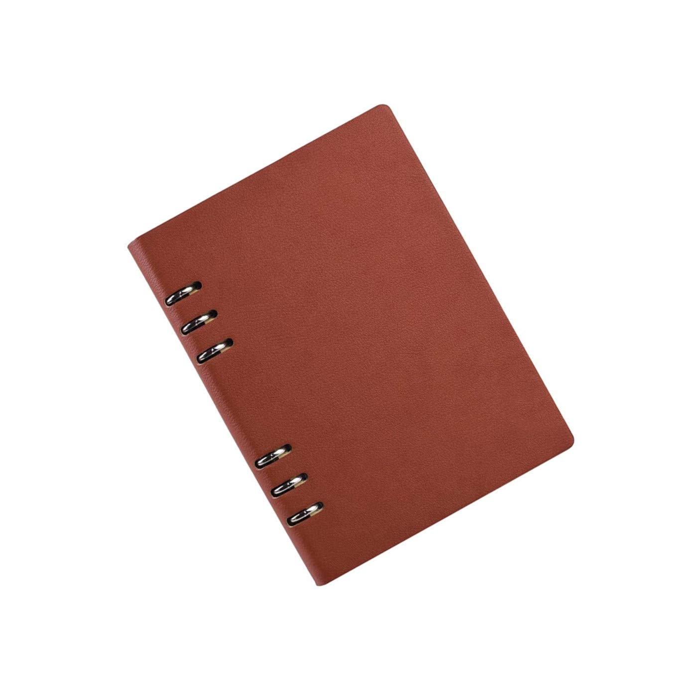 QTYB - Agenda de Piel con Anillas (tamaño A6, 150 páginas ...