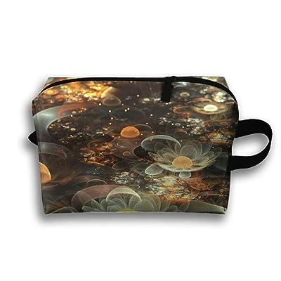 77db31c5b6 White Water Lilies Travel Bag Cosmetic Bags Brush Pouch Portable Makeup Bag  Zipper Wallet Hangbag Pen