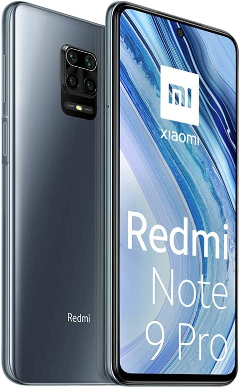 Xiaomi Redmi Note 9 Pro - 128GB + 6GB RAM, 4G, Dual Sim, Interstellar Gray