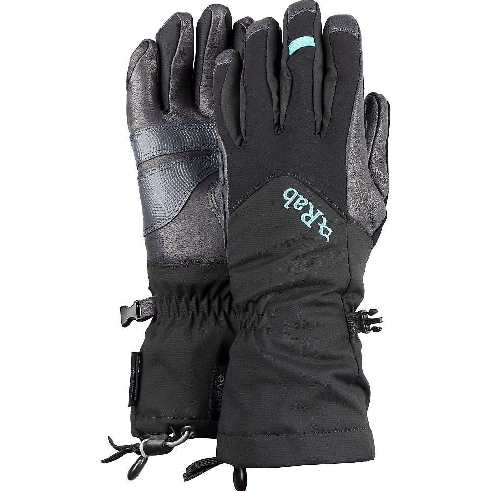 Rab Icefall Gauntlet Glove - Women's Black Large