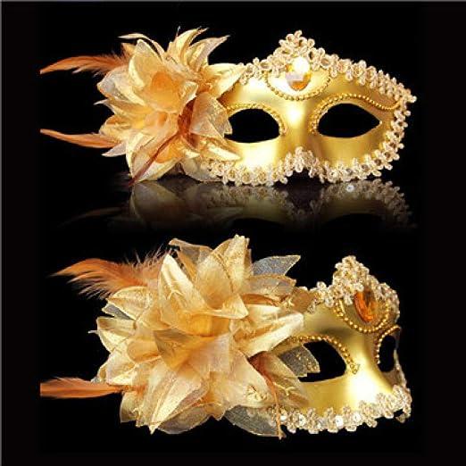 QTJKH Mascara De Halloween Máscara Veneciana Máscara Veneciana ...