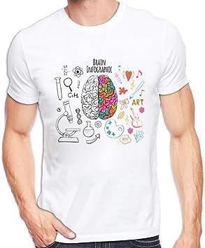 MKDLJY Camisetas Ciencia Química Biología Arte Geografía Matemáticas Física Moda Fresca Punk Camiseta Casual Estilo Divertido Camiseta Unisex: Amazon.es: Deportes y aire libre