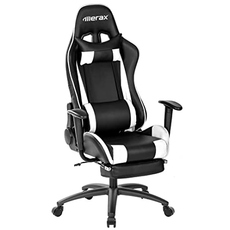 Amazoncom Merax Racing Style Highback Gaming Chair Ergonomic