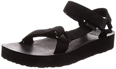 276bc4105ead Teva - Midform Universal Leather - Black - 5