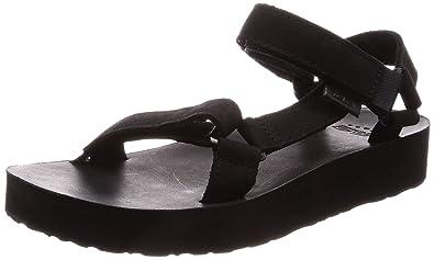 4c622eb970bd Teva - Midform Universal Leather - Black - 5