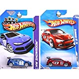 Hot Wheels VW Volkswagen Scirocco GT 24 in Blue and Red SET OF 2