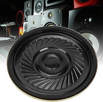 Bocina Redonda de 36 mm, Altavoz de 36 mm, 10 Piezas 8 Ω para Radio de Equipo Audiovisual doméstico: Amazon.es: Electrónica