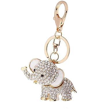 Crystal Lucky Elefante Llavero Bolsa o Encanto, increíbles ...