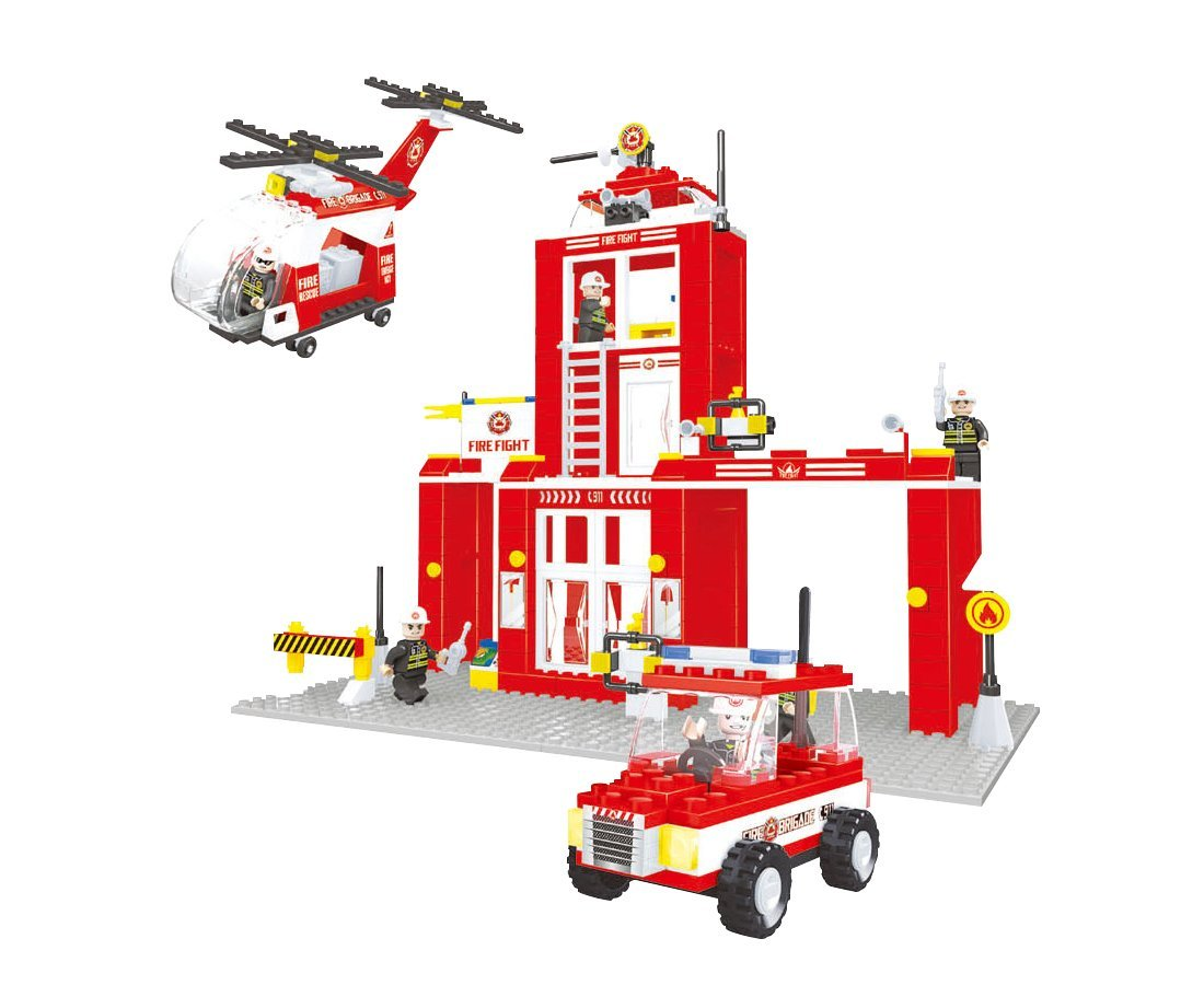 Building Toys Teens : Other lego building toys brickland fire stashion