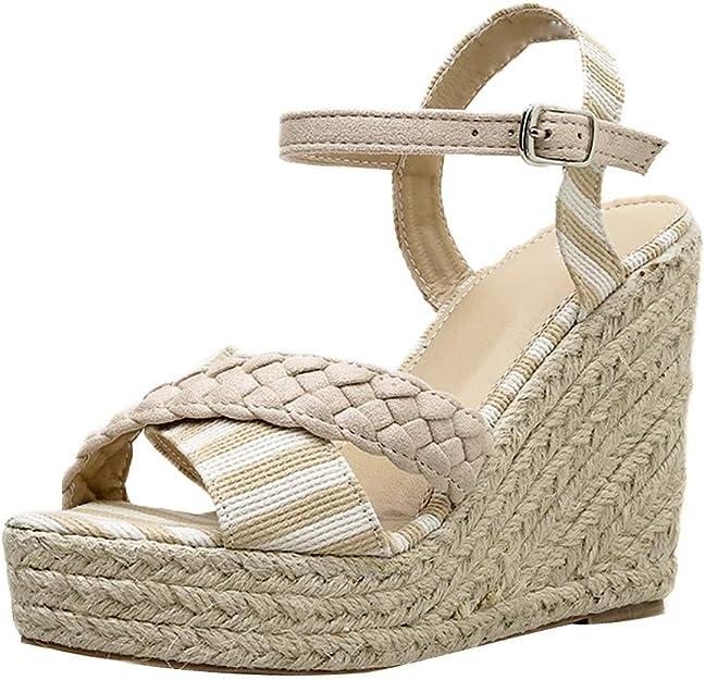 Chaussures Femme Sandales Talons, Lonupazzz Femmes Strass