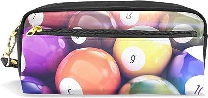 Eslifey - Estuche portátil para bolígrafos de piel sintética con ...