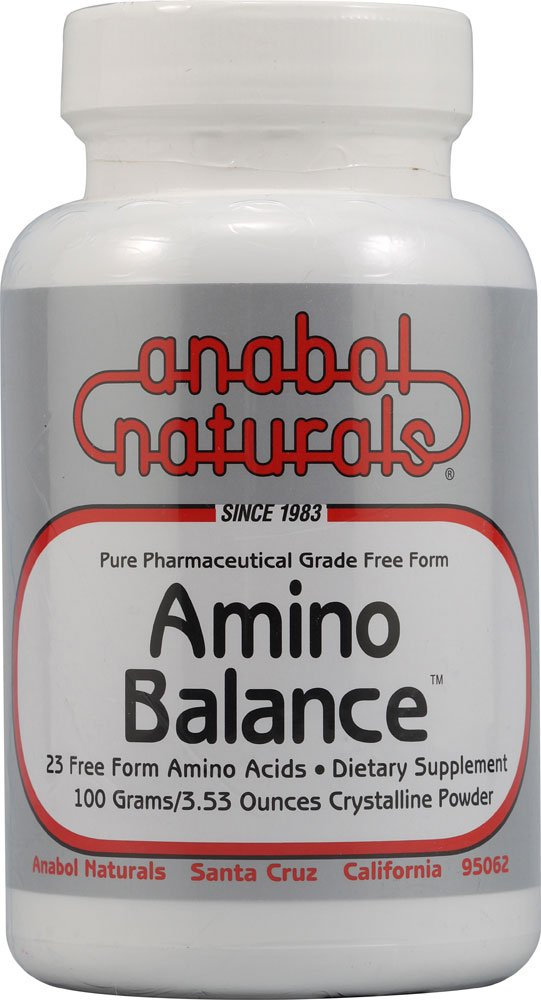 Amino Balance Powder Anabol Naturals 100 gm Powder