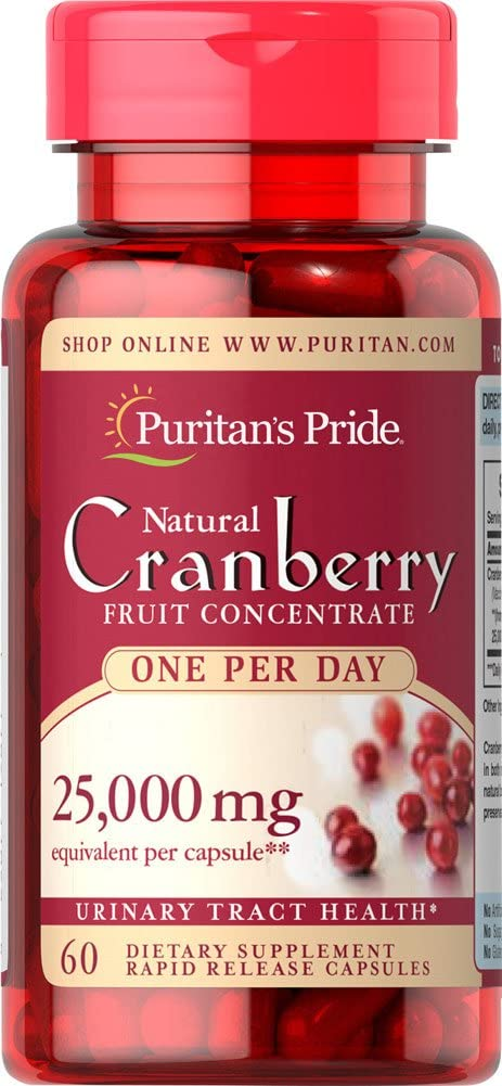 Puritan's Pride One A Day Cranberry -60 Capsules