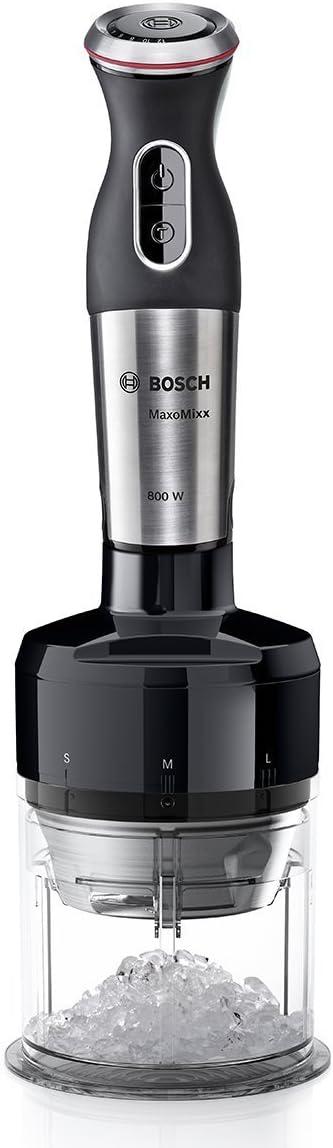 Bosch MSM88166 Batidora de inmersión 800W Negro, Acero inoxidable ...