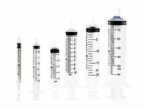 7b30dd543b7 Ciringe Disposable Plastic Syringe Assorted Size (1 x 1ml