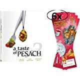A Taste of Pesach 2 with 6 Passover Seder Book Place Cards
