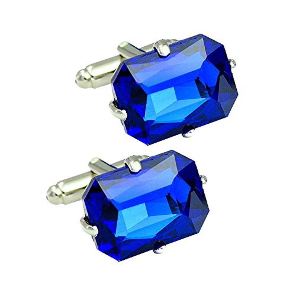 Amytong luxury awesome shiny crystal stone cufflinks for men & women wedding& party use French style