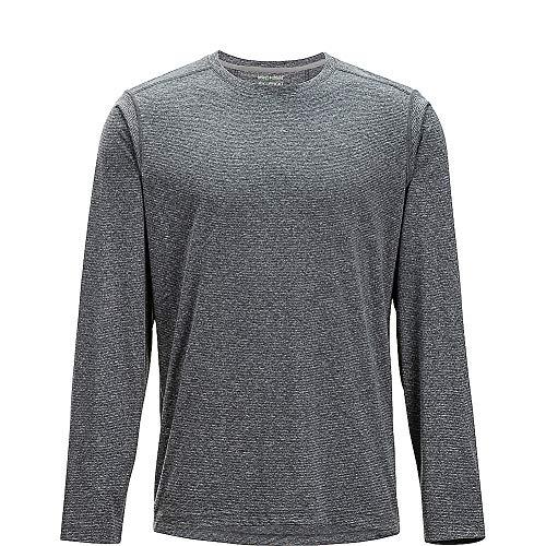 ExOfficio Men's BugsAway Tarka Lightweight Long-Sleeve Shirt, Black, XX-Large