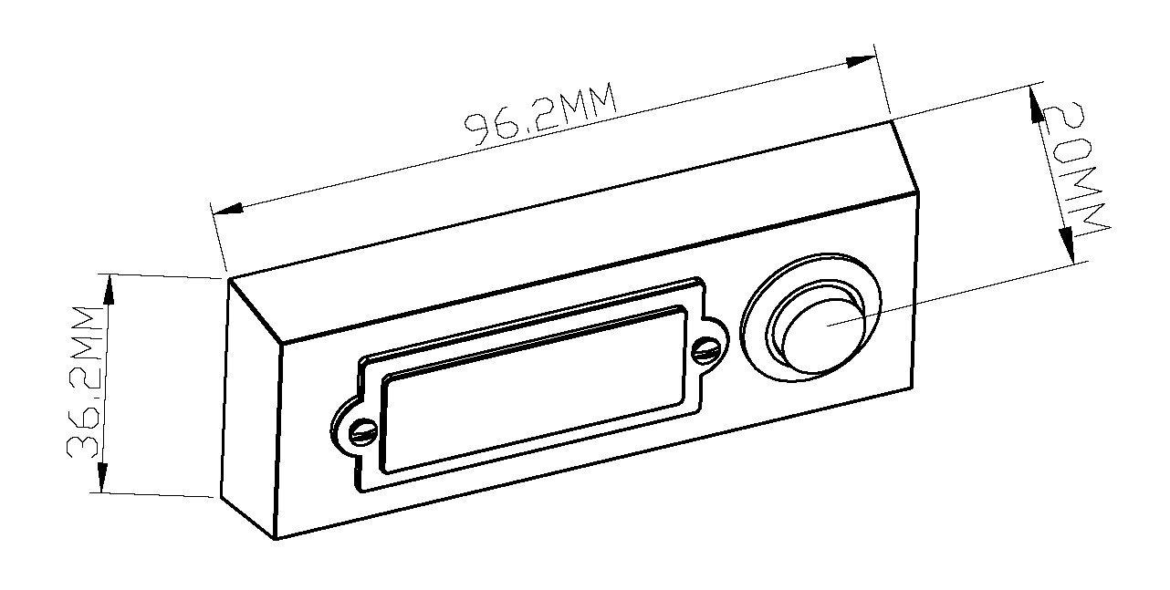 HUBER Bouton de sonnette bouton poussoir avec 1 bo/îtier dencastrement rectangulaire m/étal et /écriteau en polycarbonate 42.00V