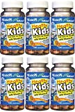 Cheap Mason Vitamins Healthy Kids Cod Liver Oil and Vitamin D, Tasty Chewable Orange Flavor, 100 Tablets per Bottle Pack of 6 Total 600 Tablets
