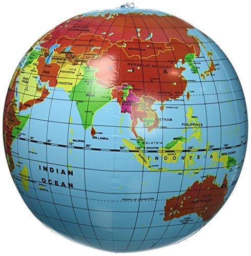 Inflate World Globes (1 Dozen) -