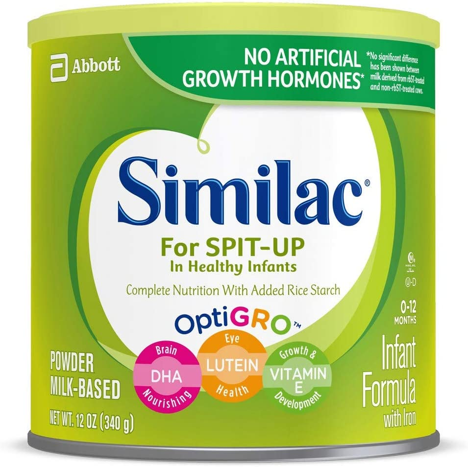 Image of Similac For Spit Up Powder Baby Infant Formula With Iron, 12 ounce - Pack of 6 Baby