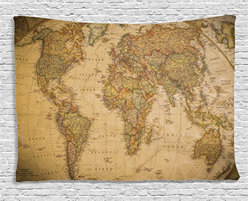 ambesonne-wanderlust-decor-collection-anthique-old-world-map-in-retro-color-with-vintage-nostalgic-d