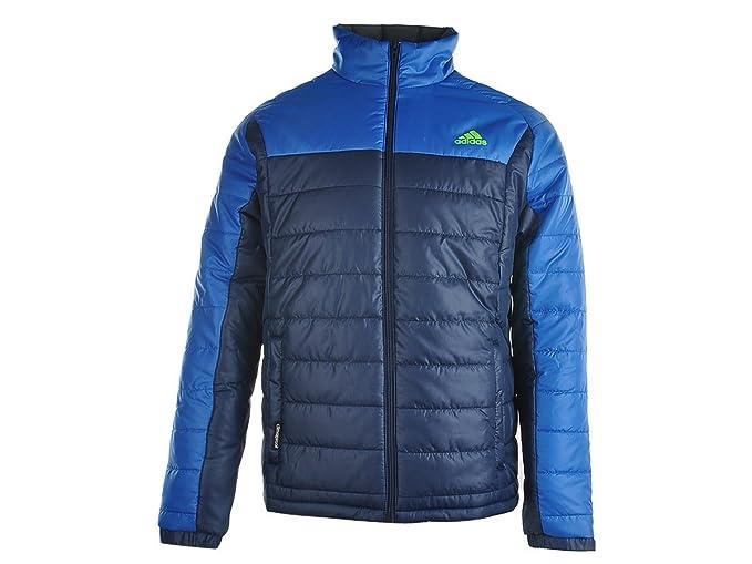 Uomo Navyblue Adidas it Small Giacca Piumino Amazon wOnFxPfB