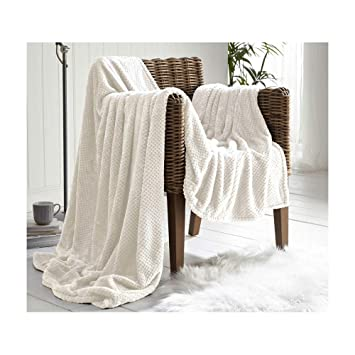 Mink Soft Warm Blanket 150*200CM Grey Large Luxury Faux Fur Throw Sofa Bed