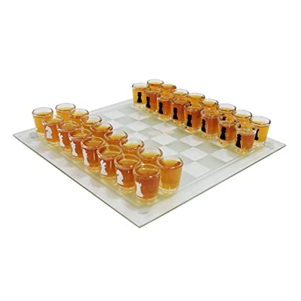 11 Chess Drinking Board Game