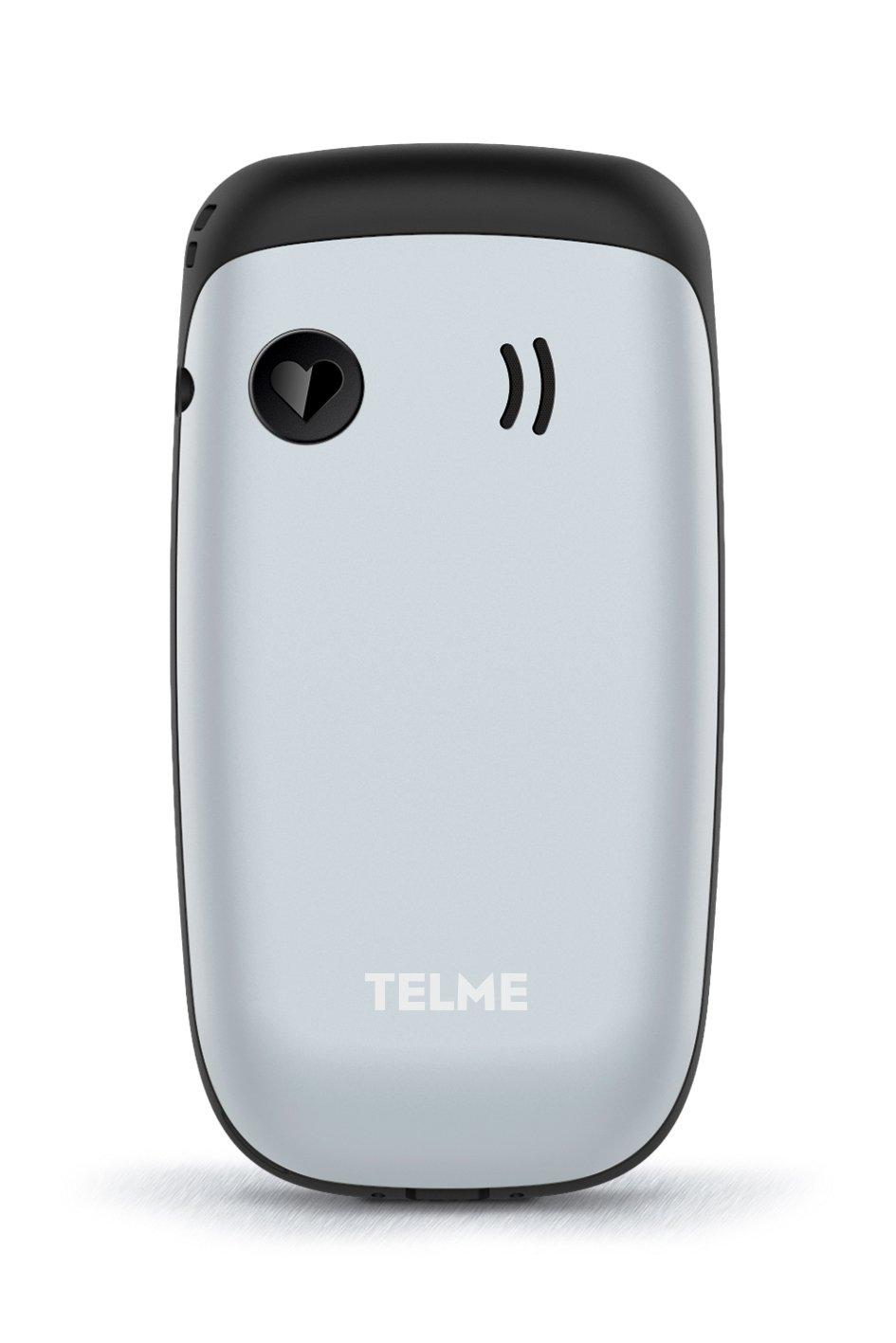 telmeklapp Teléfono Móvil, Dual SIM, bedienfreundlich, fácil Cámara, función de Emergencia