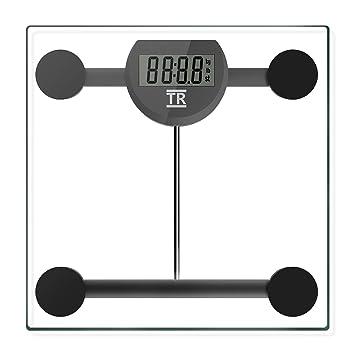 Escala de peso corporal, VanHot de alta precisión, báscula de baño digital, báscula