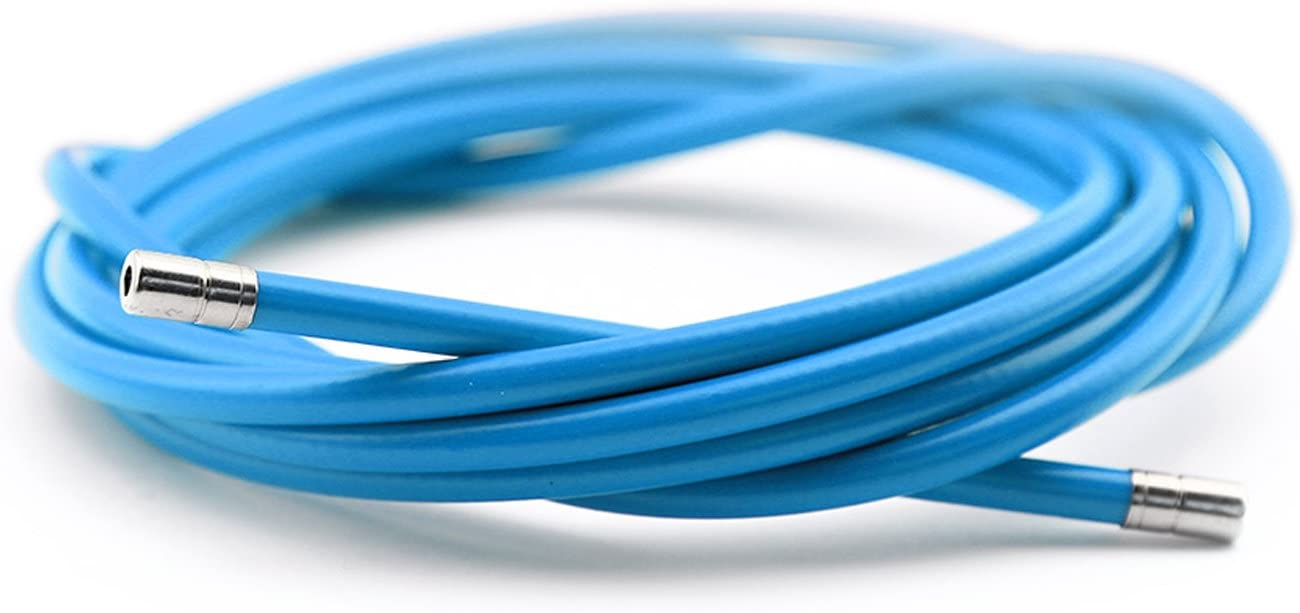 Funda Color Azul para Cable de Freno de Acero Laminado Sirga de Ø5 ...